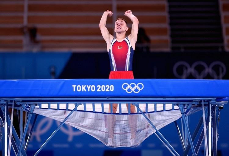 البيلاروسي ليتفينوفيتش يهدي بلاده الميدالية الذهبية الأولى في أولمبياد طوكيو