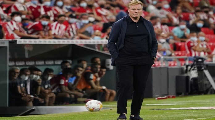 Koeman's first comment after Barcelona's draw with Bilbao
