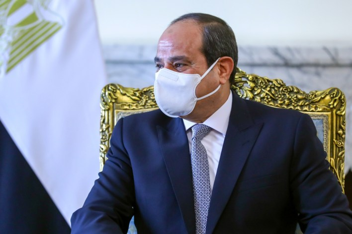 Sisi counts the number of the non-Egyptian population in Egypt