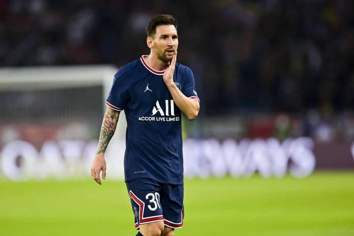 Paris Saint-Germain announces Messi's injury