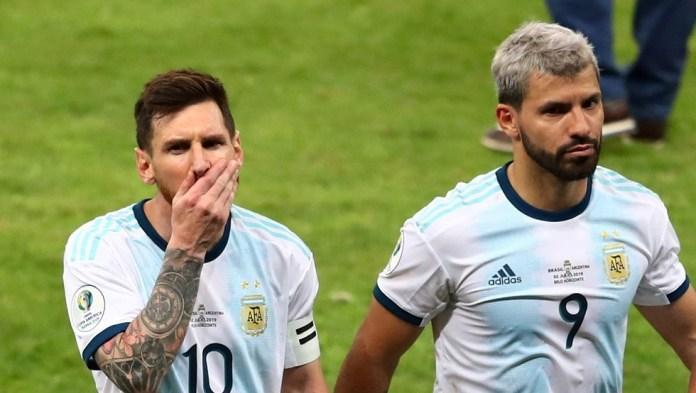 Messi reveals to his friend Aguero