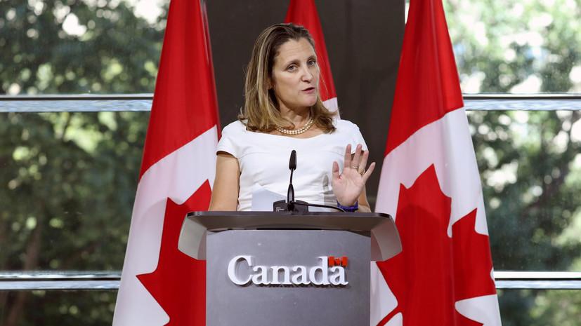 A kanadai külügyminiszter sürgeti Madurót, hogy lépjen ki