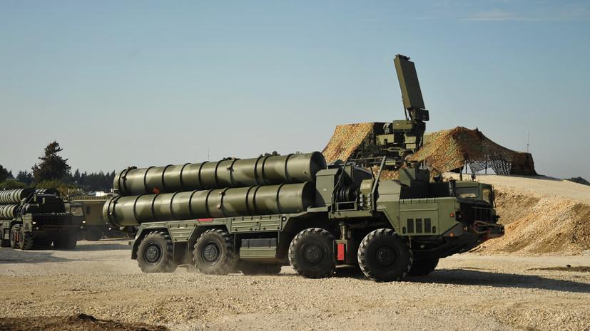 Средства ПВО России сбили два беспилотника боевиков в районе Хмеймима