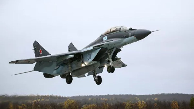 India approved the purchase of 21 MiG-29 fighters from Russia