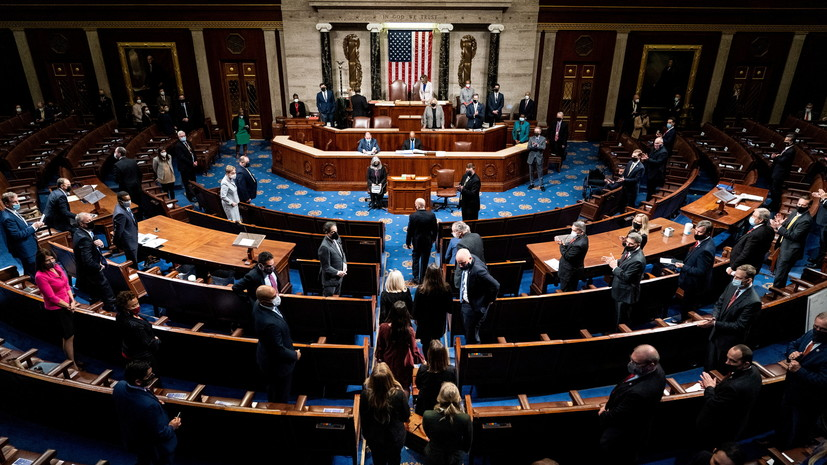 Az amerikai kongresszus jóváhagyja Biden győzelmét az elnökválasztáson