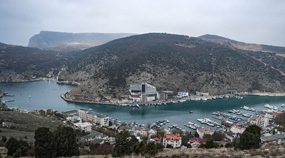 View of the Balaklava Bay