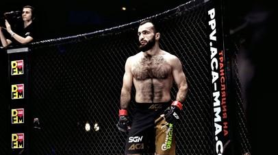 ACA fighter Magomedrasul Khasbulayev