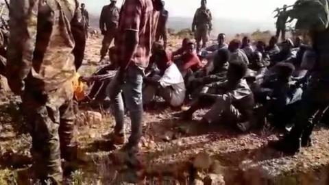 Videos reveal a civilian massacre in Ethiopia: 'We don't show mercy'