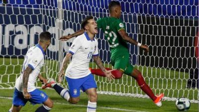 Coutinho brace helps Brazil forget Neymar in winning Copa ...