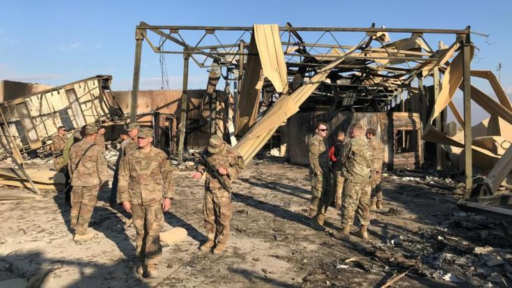 Iraqi army officials say the pace of recent attacks against US bases with rockets and explosive-laden drones was unprecedented. [FILE]