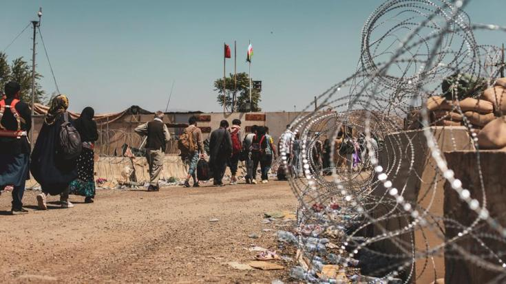 Foreign forces warned of another lethal attack in the closing days of a frantic US-led evacuation from Hamid Karzai International Airport, Kabul.