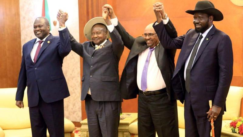 South Sudan's warring leaders agree to share power – again