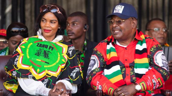 Zimbabwe vice president's wife charged with trying to murder him