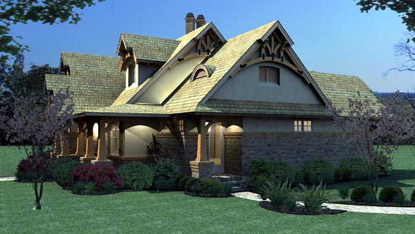 Plan 65870 Bungalow Style House Plan With 3 Bed 2 Bath