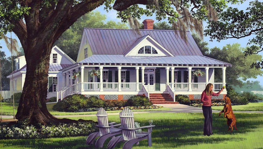 House Plan 86226 at FamilyHomePlans com Click Here to see an even larger picture  Cottage Country Farmhouse  Traditional House Plan