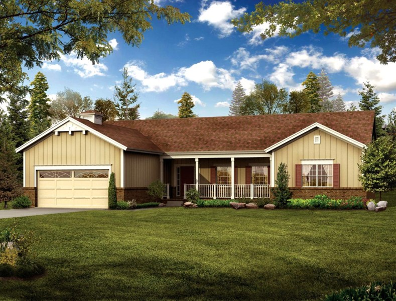 House Plan 90274 at FamilyHomePlans com Click Here to see an even larger picture  Country Ranch House Plan