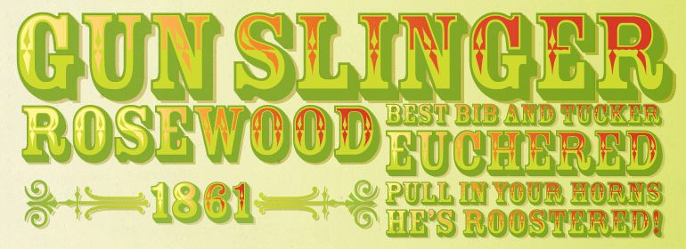 Download Rosewood® Font Family - Fonts.com