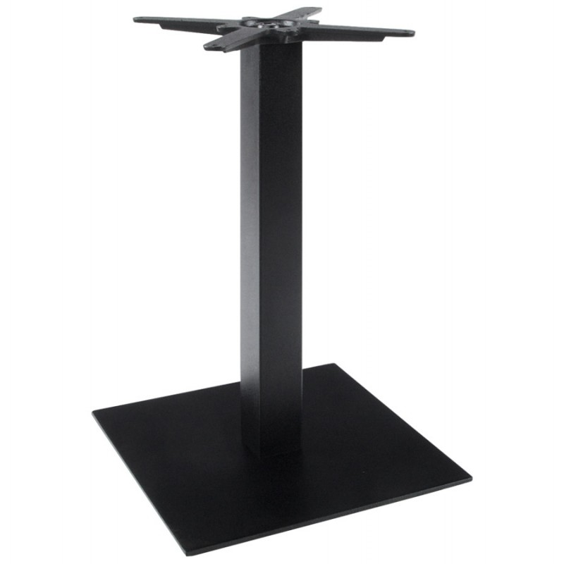 wind square table leg without metal tray 50cmx50cmx73cm black support and table legs