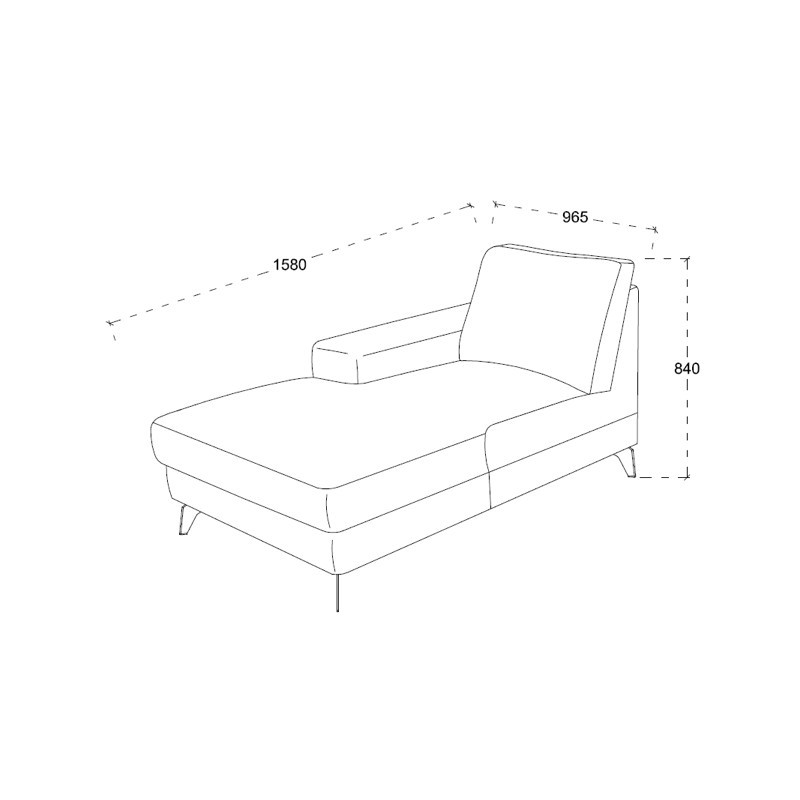 corner sofa design right side 3 seater with chaise theo in fabric light gray couch d angle