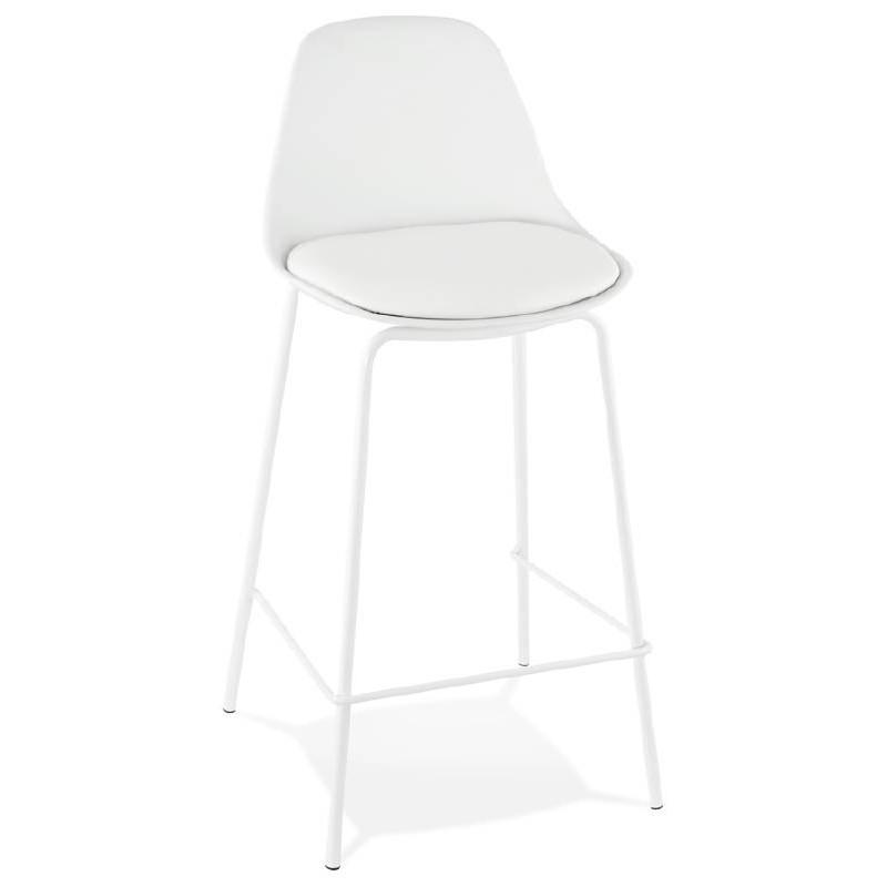 auf halber hohe industrielle oceane mini weiss stuhl hocker bar bar designer barhocker