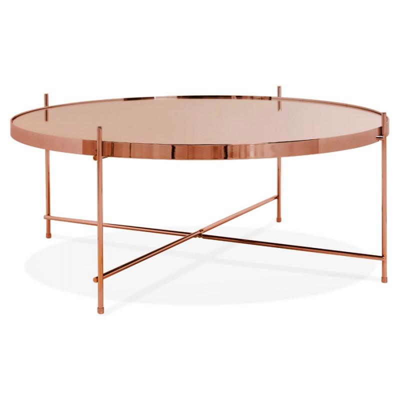 ryana big design coffee table copper low tables