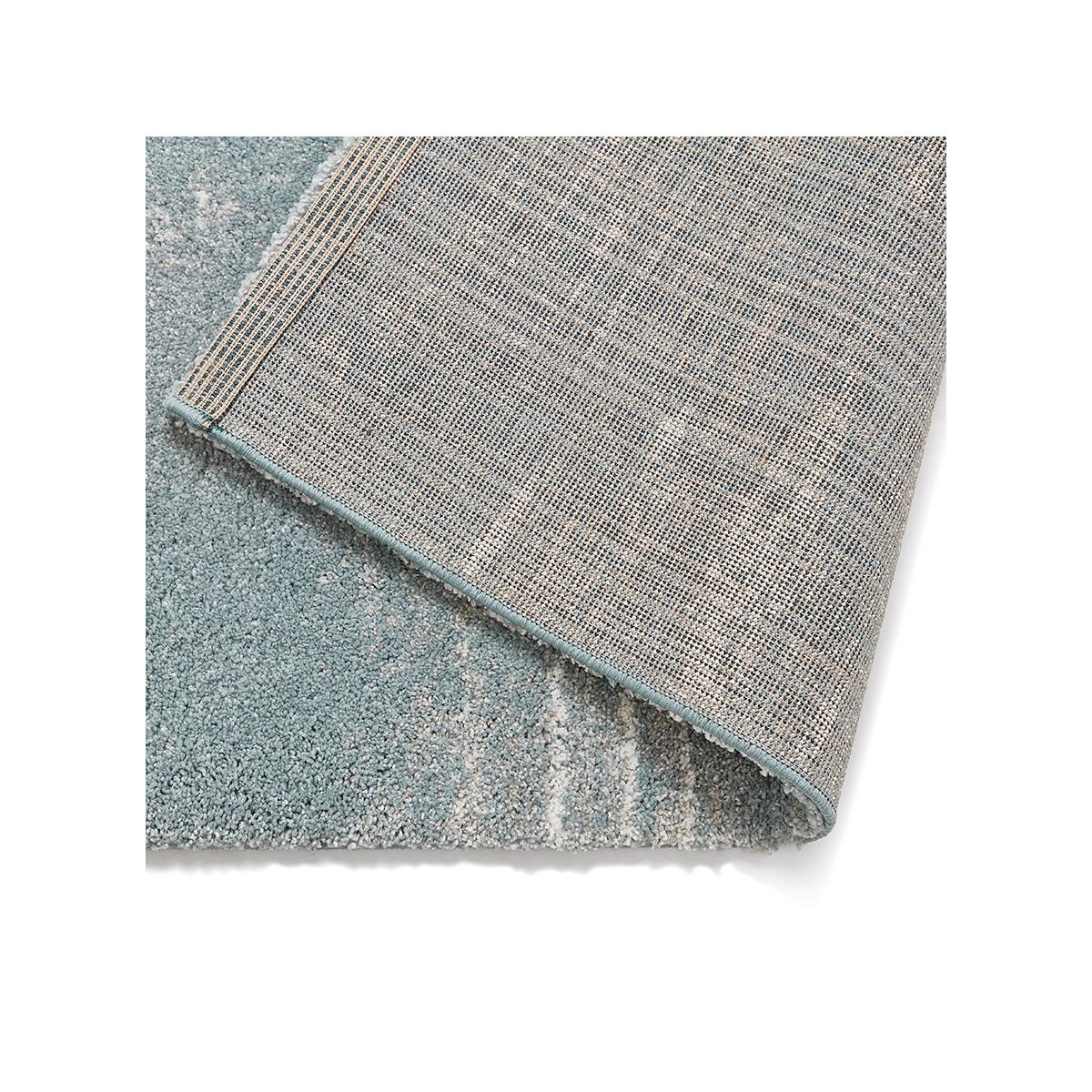 tapis design rectangulaire 160x230 cm sherine bleu ciel amp story 6992