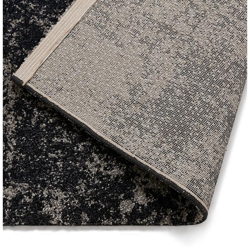 rectangular design carpet 160x230 cm tamar black grey modern and contemporary carpets