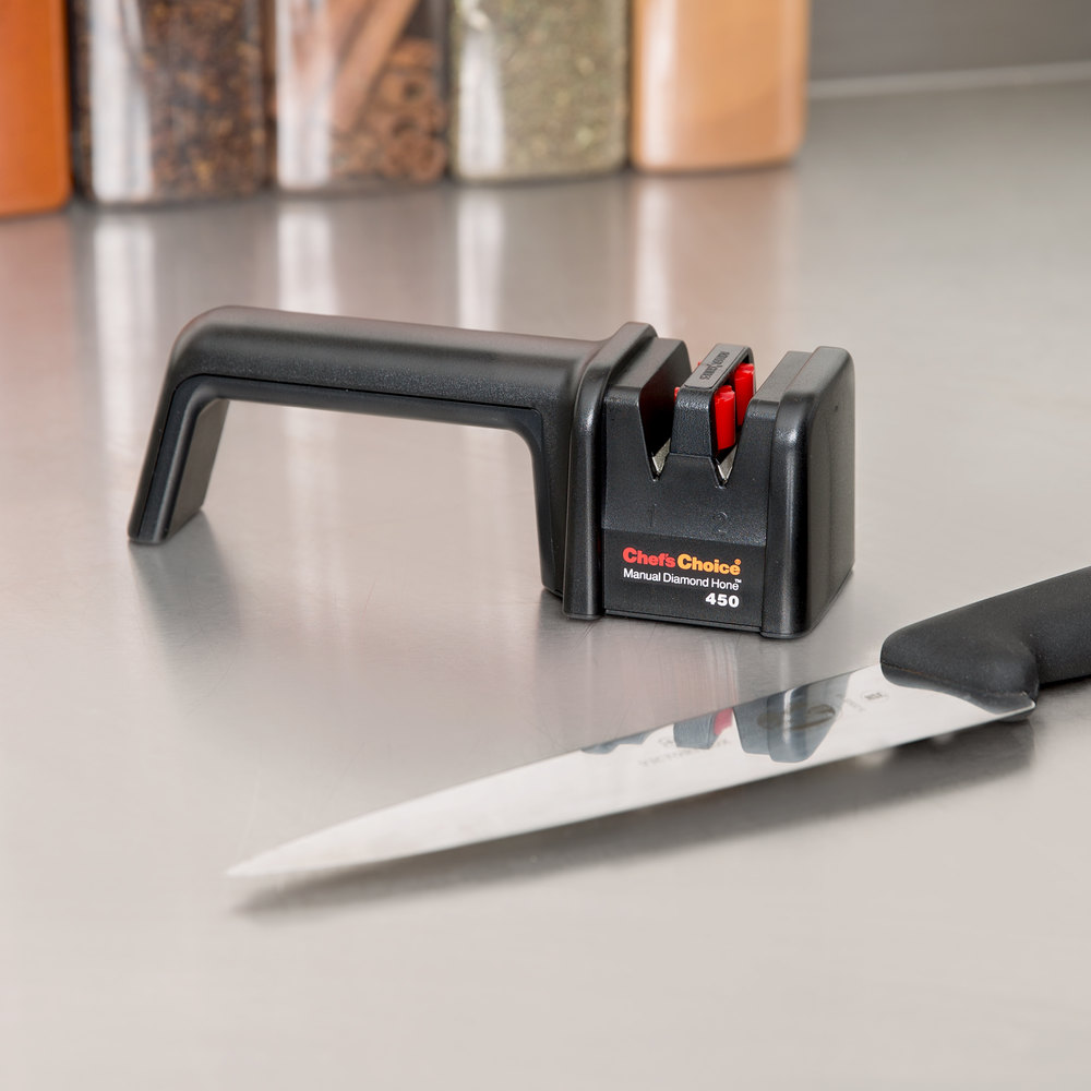 Edgecraft Chefs Choice 450 Manual Knife Sharpener