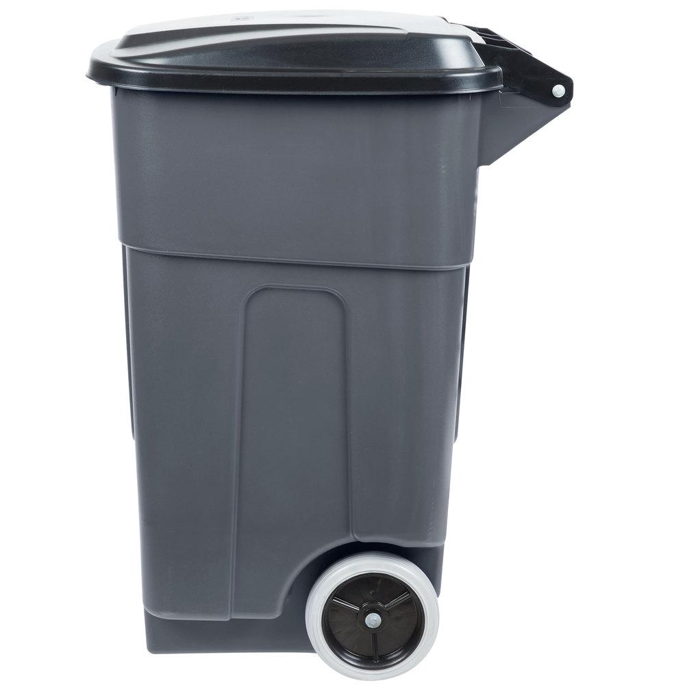 Trash Rolling Cans Bulk