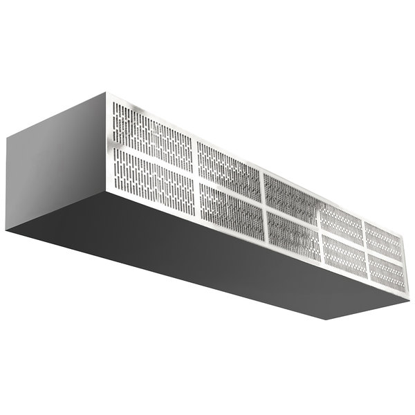 curtron e cfd 60 2 60 commercial front door air curtain with electric heater 208v 3 phase