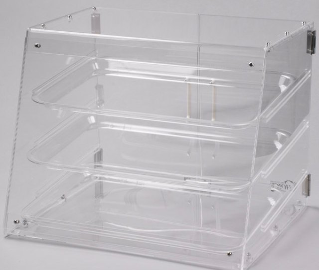 Show Off All Your Tempting Pastries In This Choice  Tray Bakery Display Case