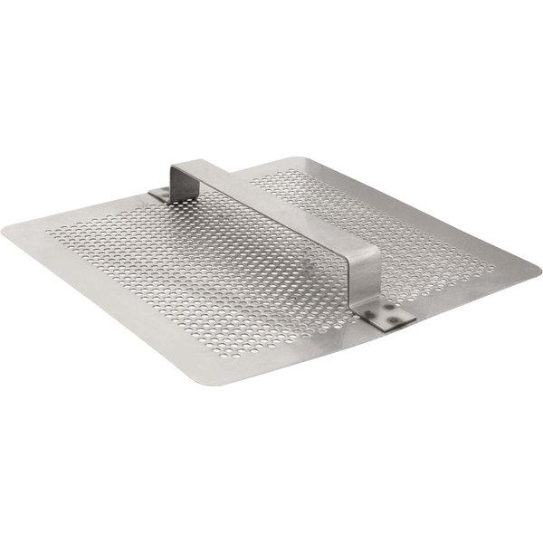 fmp 102 1107 stainless steel flat floor sink strainer 7 3 4 x 7 3 4