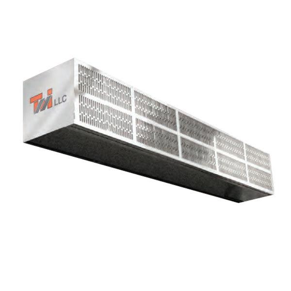 curtron s lp 108 2 108 commercial low profile air curtain 120v