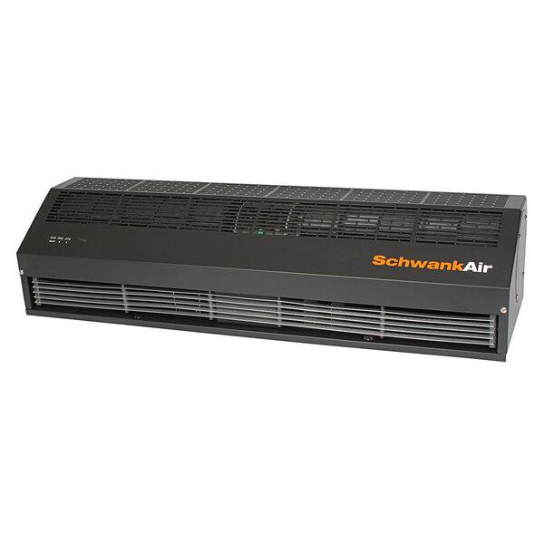 schwankair ac 1048 12 bk 48 electric door air curtain 120v 530w