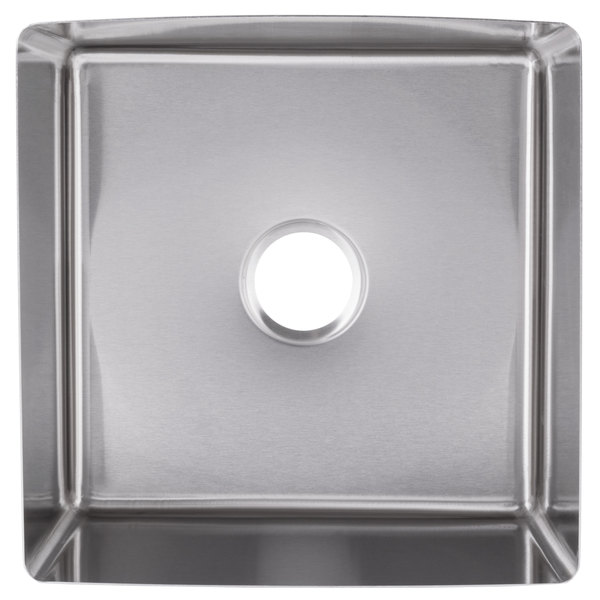 eagle group fnwnf 24 24 12 1 stainless steel 24 x 24 fabricated straight wall weld in sink bowl 12 deep