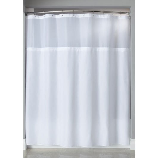 it s a snap hbh40sl0557 beige polyester shower curtain liner with magnets 70 x 57