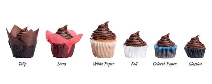 Standard Cupcake Liner Size. Standard Size White Cupcake