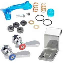 faucet components for commercial sinks