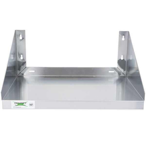details about 24 x 18 stainless steel commercial restaurant wall mount microwave shelf stand
