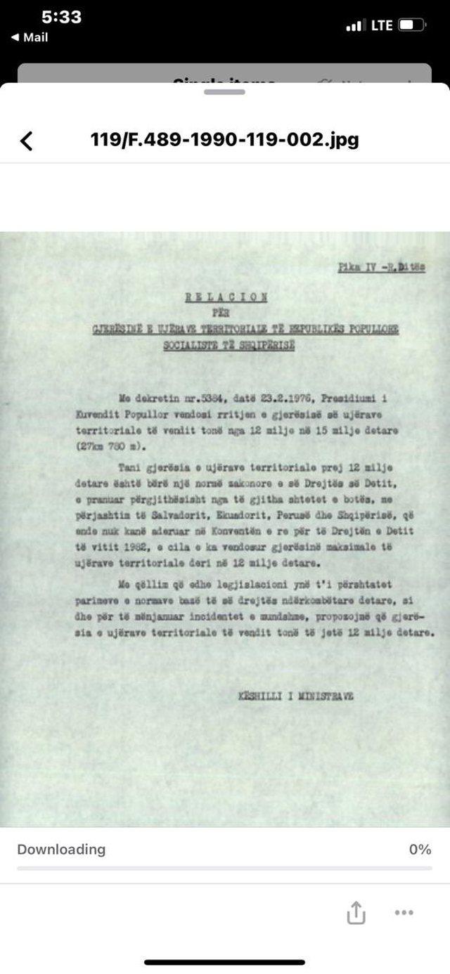 """Rama reagon për """"shitjen e detit"""" dhe nxjerr dokumentet: Greqia"""