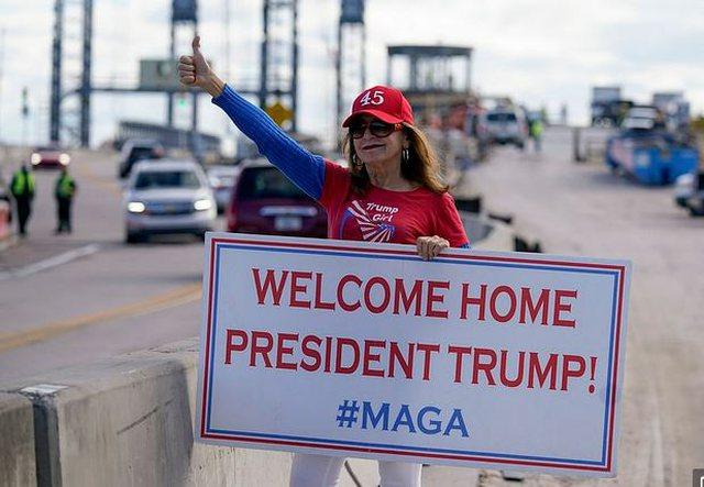 Çifti Trump mbërrin në Mar-a-Lago për të nisur