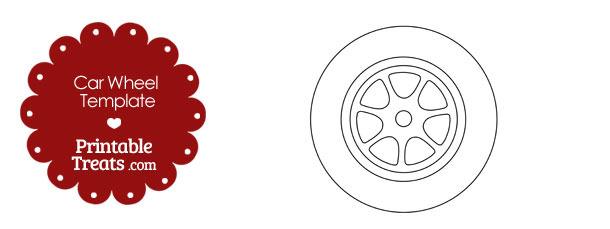 Printable Car Wheel Template Printable