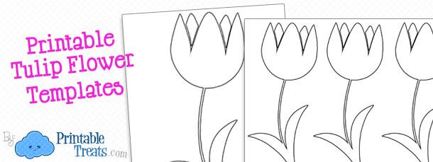 Printable Flower Template Printable