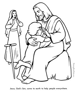 20 jesus coloring pages for kids printable treats com