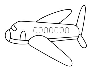 printable airplane coloring pages for kids printable treats com