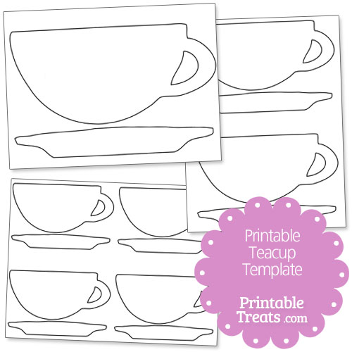 photograph about Teacup Template Printable identified as Printable Teapot Template. 1000 Programs pertaining to teapot crafts upon