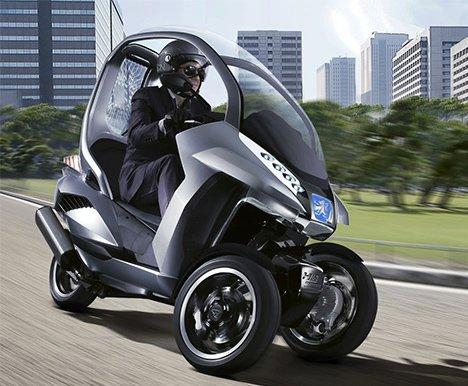 Peugeot HYmotion3 Compressor Concept