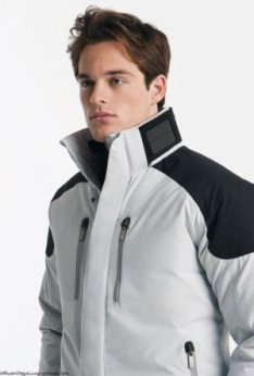 Ermenegildo Zegna Solar-powered Ski Jacket