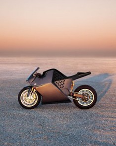 Neiman Marcus Limited Edition Mission One Electric Sports Motorcycle