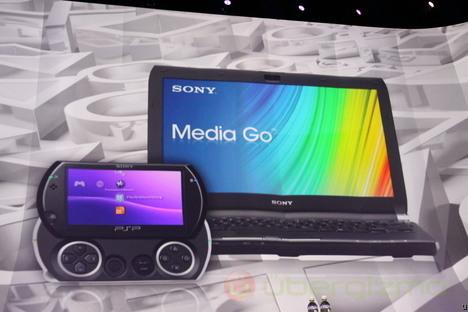 PSP Go and Media Go App Store